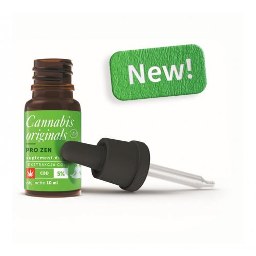 Olejek CBD Zen Cannabis Originals 5% 10ml